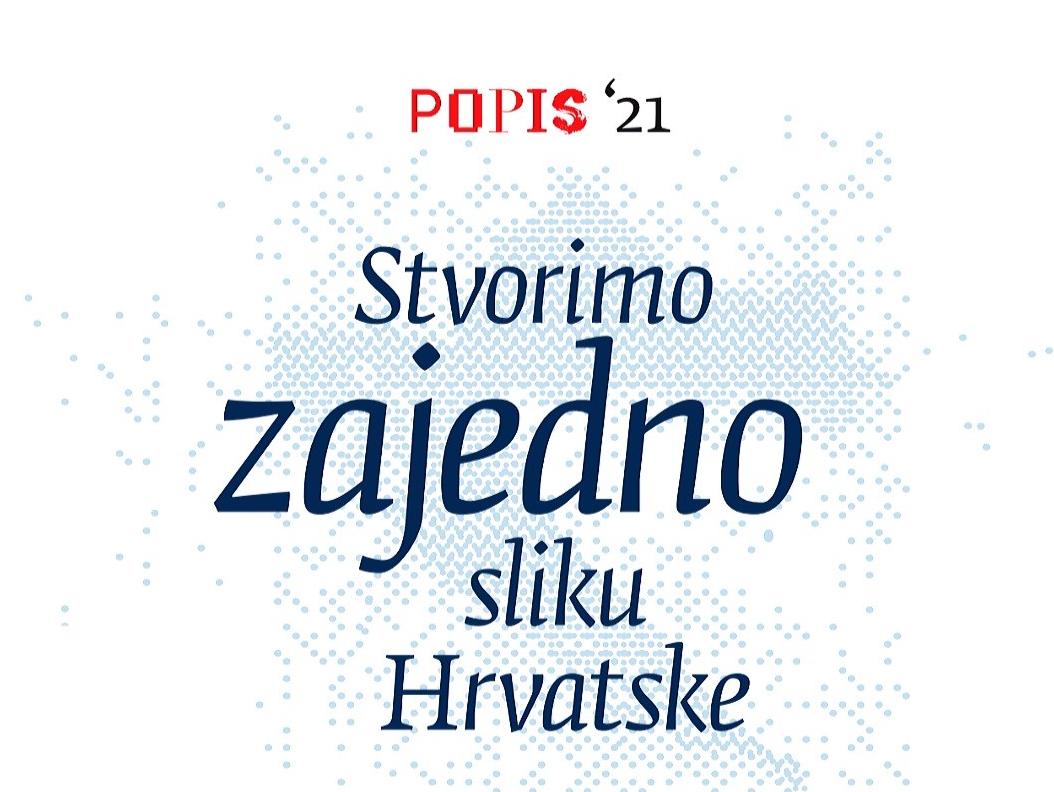 Prvi digitalni Popis stanovništva u RH: Putem sustava e-Građani bit će  omogućeno samoupisivanje!